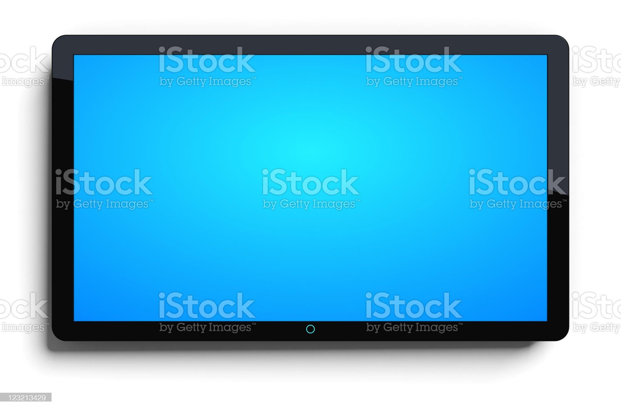 LCD TV royalty-free stock vector art