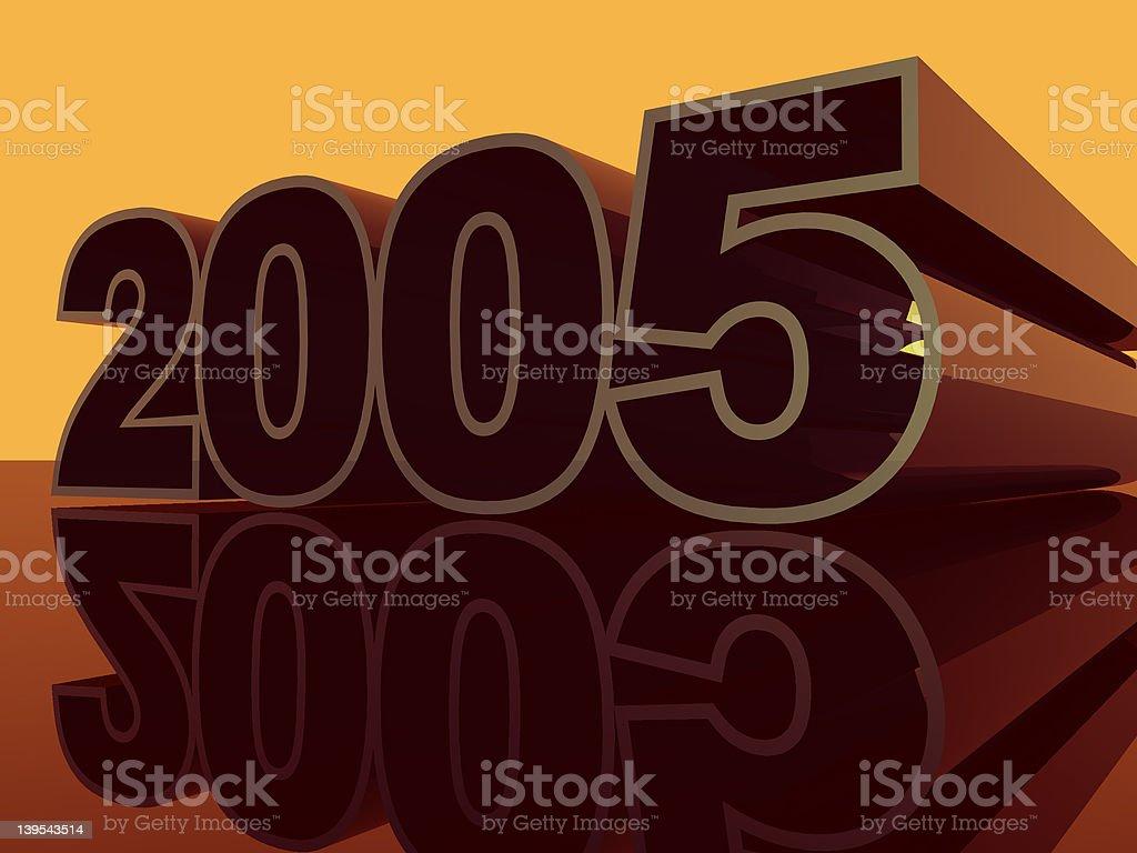 2005 royalty-free stock vector art