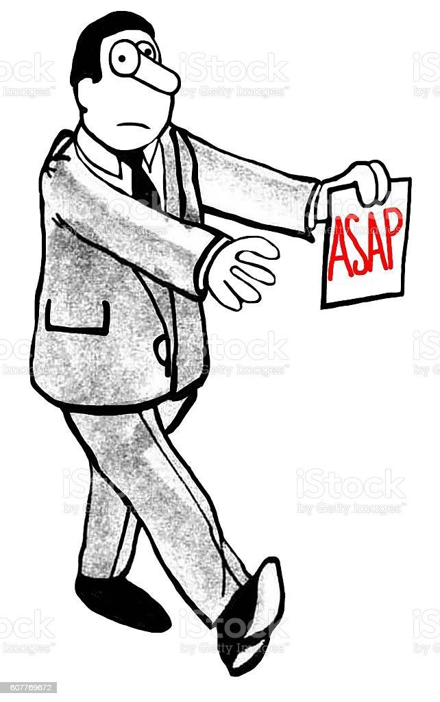 ASAP vector art illustration