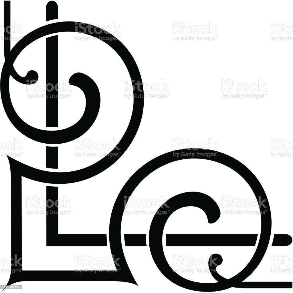 120a-scroll (Corner) vector art illustration