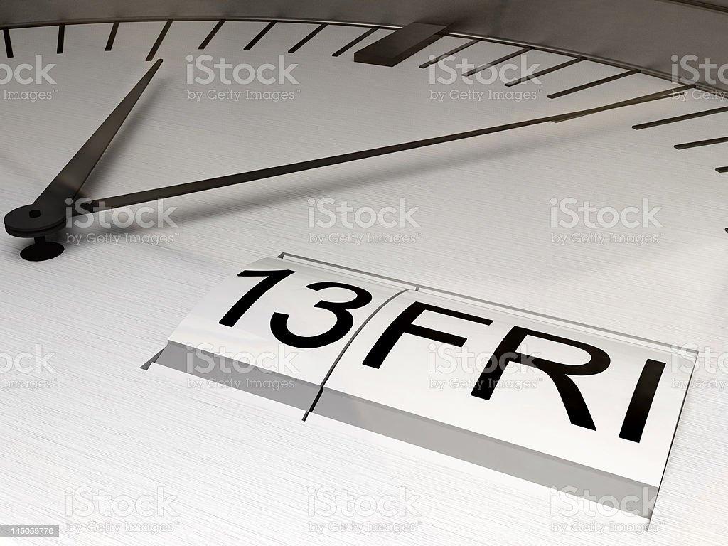13th friday royalty-free stock vector art