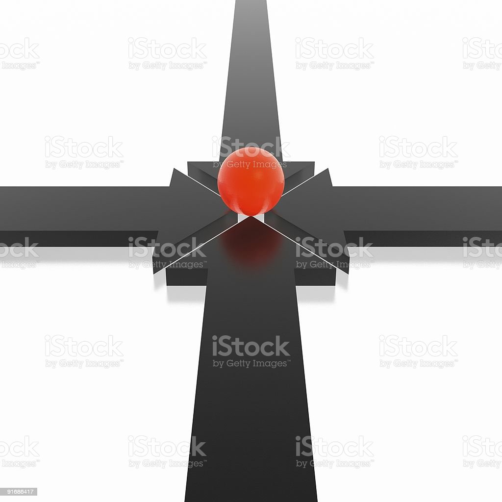 3d arrows royalty-free stock vector art