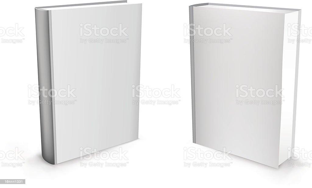 3d vector white books vector art illustration