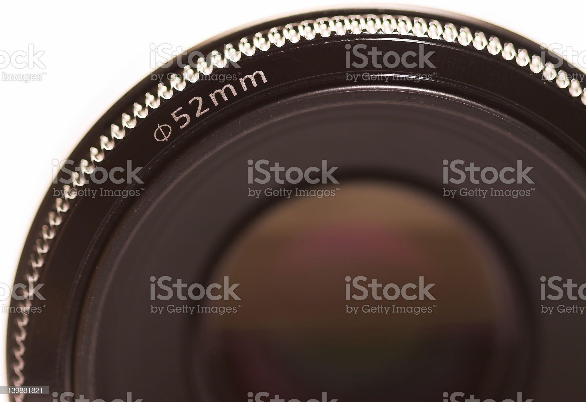 50mm camera lens royalty-free stock vector art