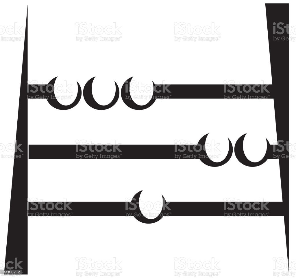 Abacus royalty-free stock vector art
