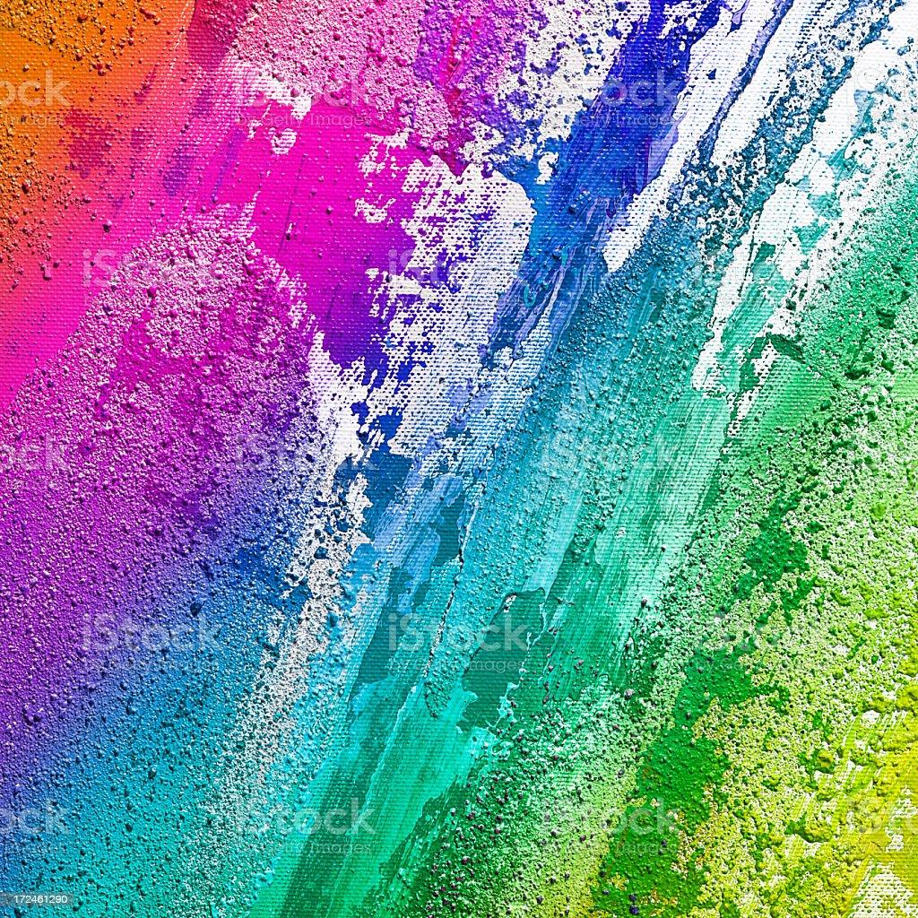 Abstact paint vector art illustration
