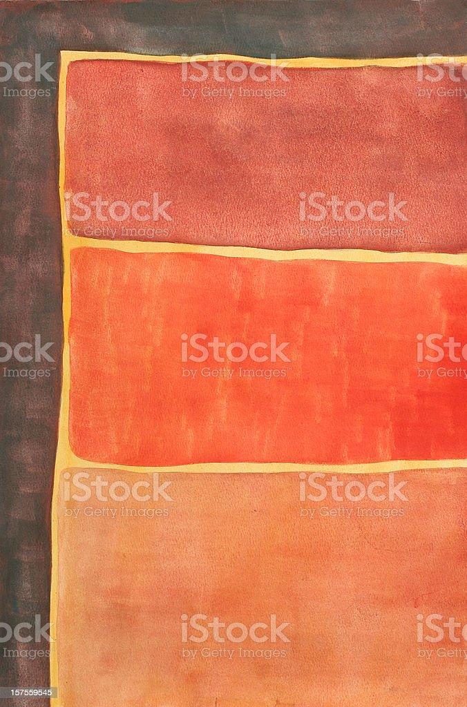 Abstact Painting vector art illustration