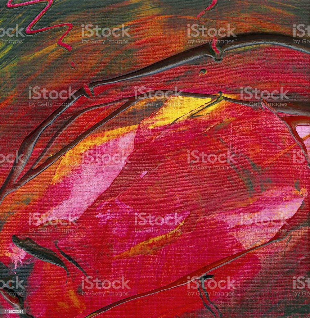 Abstract Acrylic Artwork royalty-free stock vector art