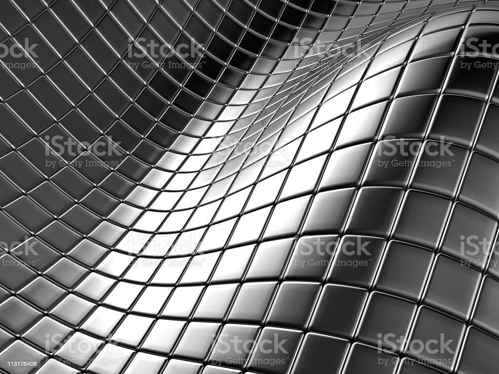 Abstract aluminium silver square royalty-free stock vector art