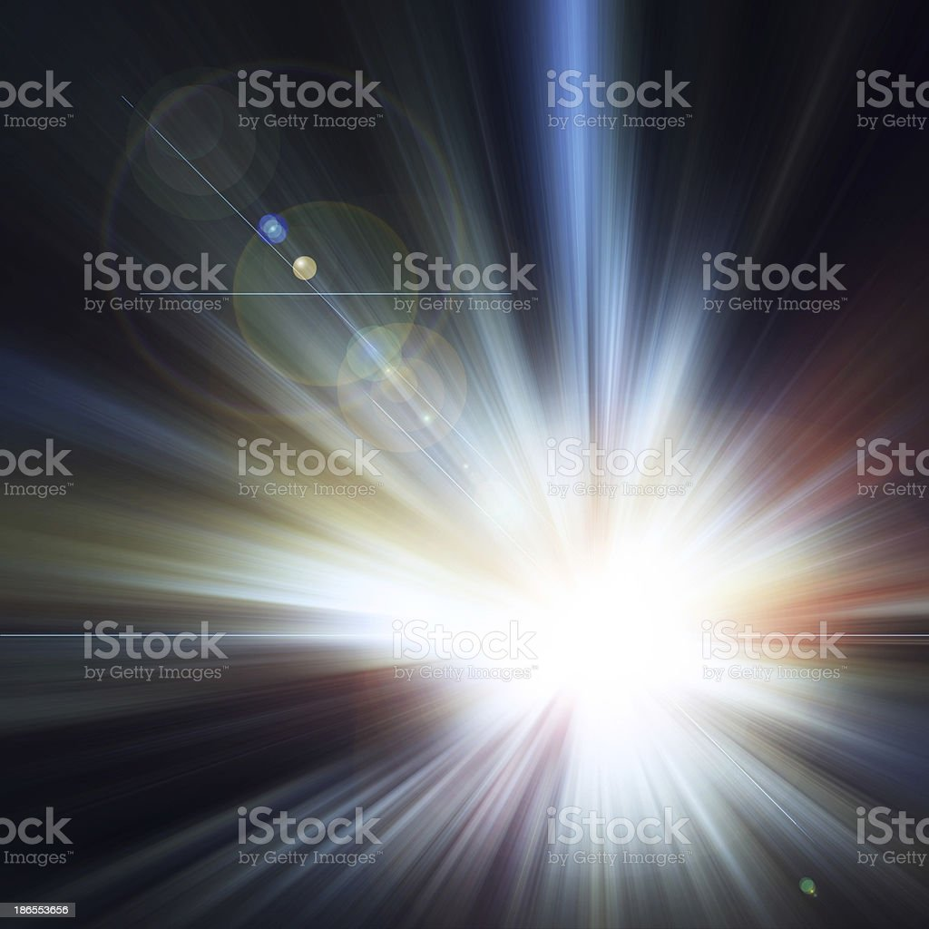 Abstract background, Beautiful rays of light royalty-free stock vector art