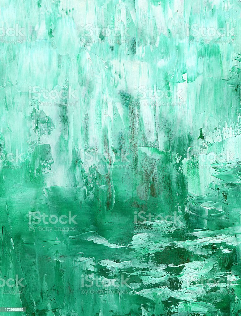 Abstract Background in green color royalty-free stock vector art