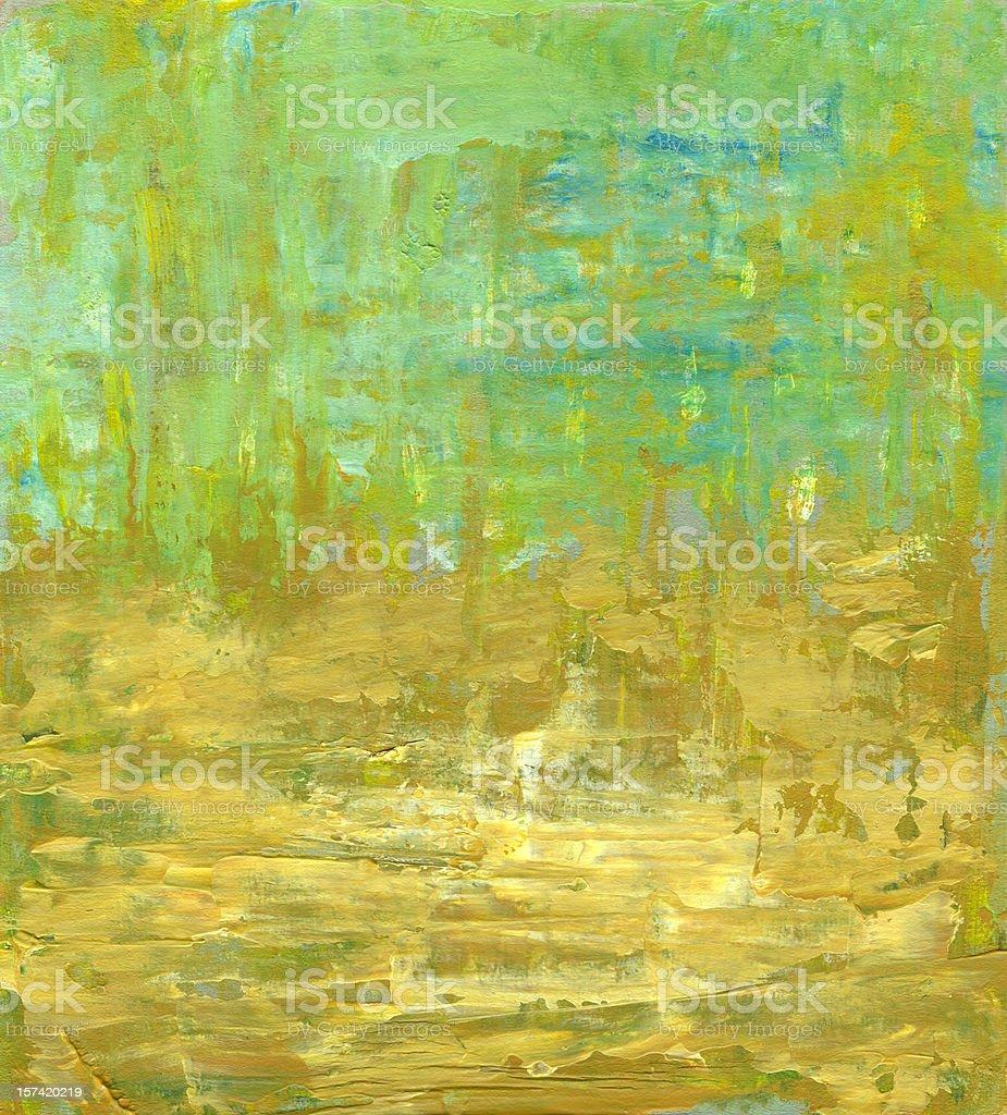 Abstrakt Hintergrund mit hellen grünen und gelben Lizenzfreies vektor illustration
