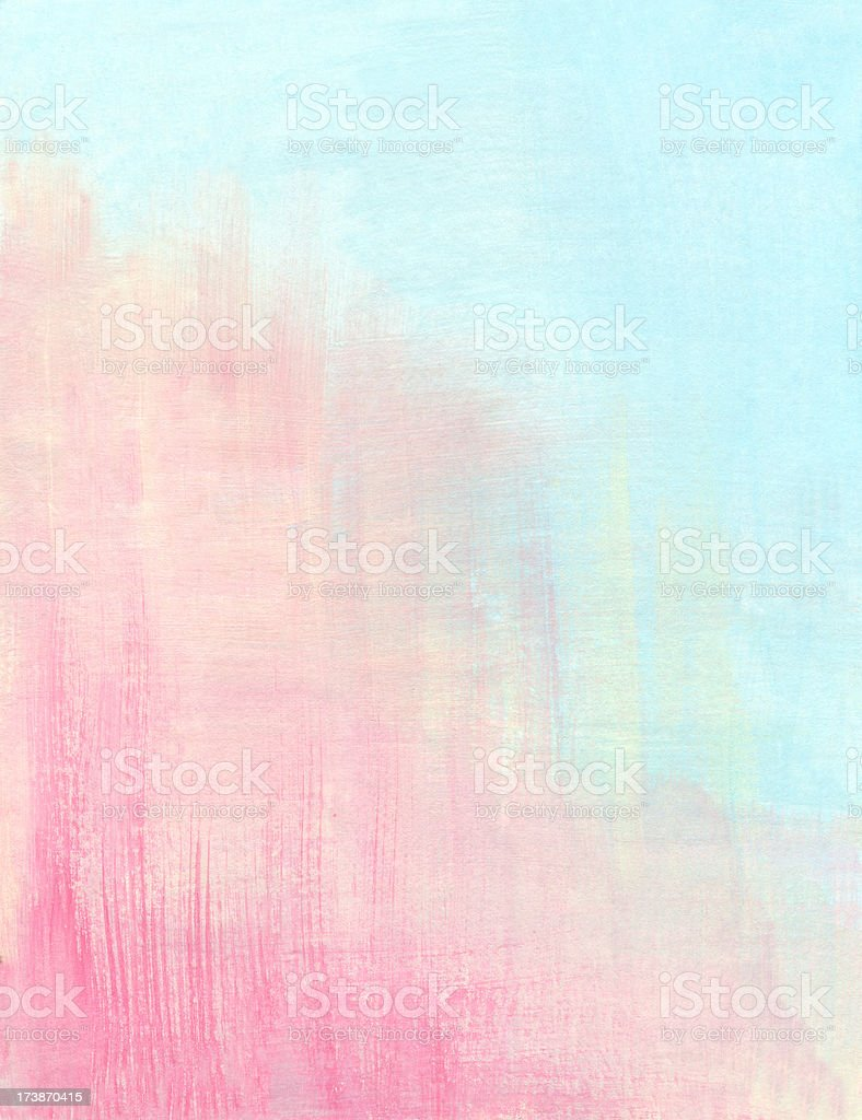 Abstract Background in Pink and Light Blue Colors royalty-free stock vector art