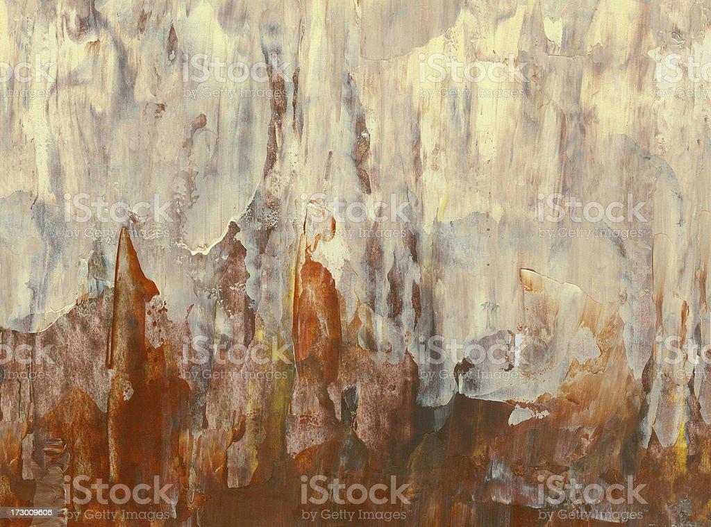 Abstrakt Hintergrund in warmen Farben Lizenzfreies vektor illustration