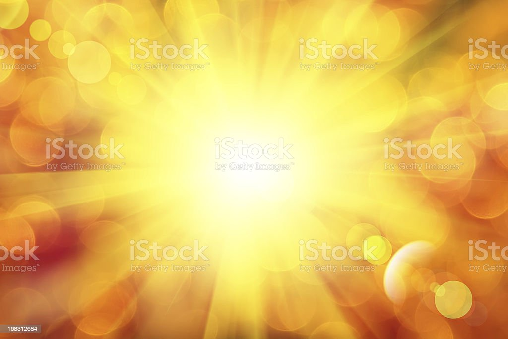 Abstract background of sunlight rays royalty-free stock vector art