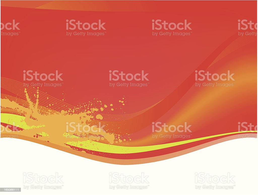 Abstract Background Red vector art illustration
