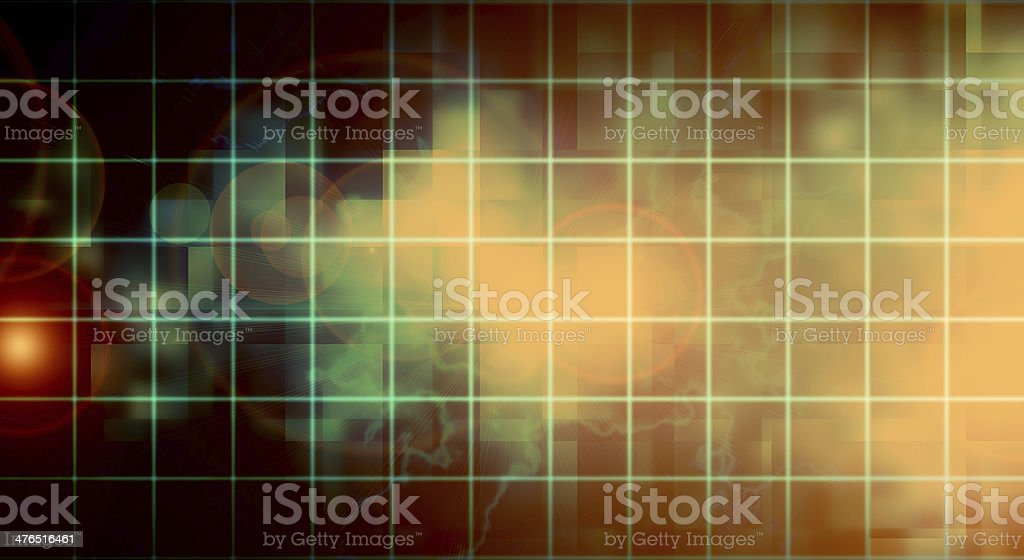 abstract background with grid royalty-free stock vector art