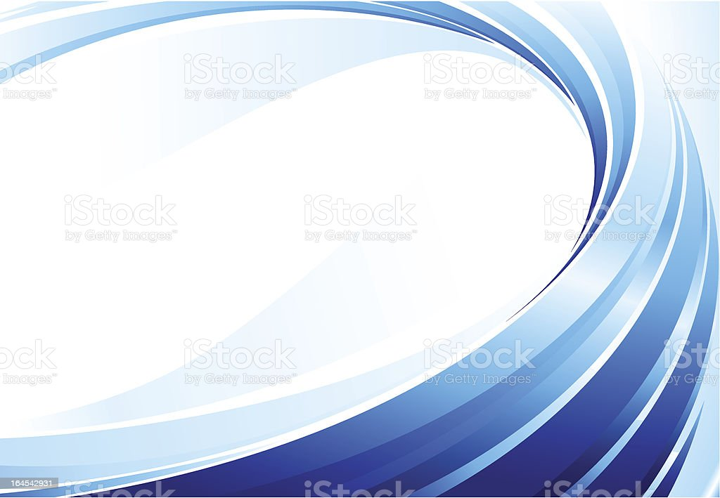 Abstract blue background. royalty-free stock vector art