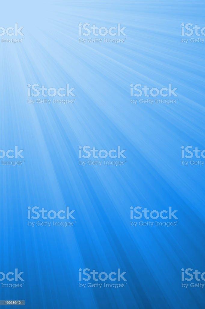 Abstract blue light rays background vector art illustration