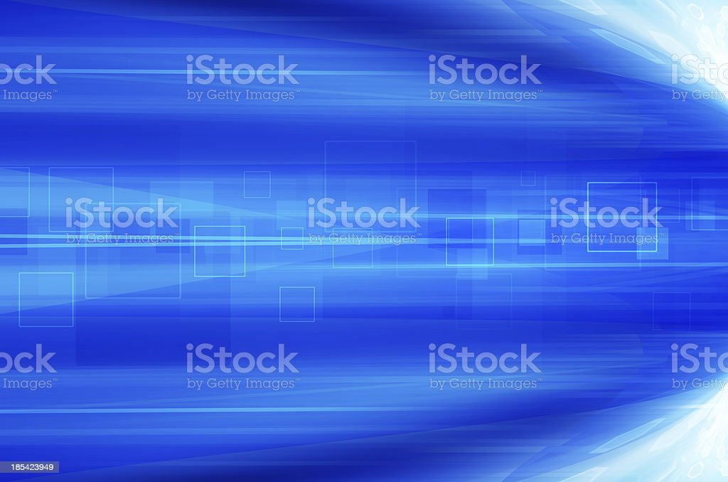 Abstract blue technology background. royalty-free stock vector art