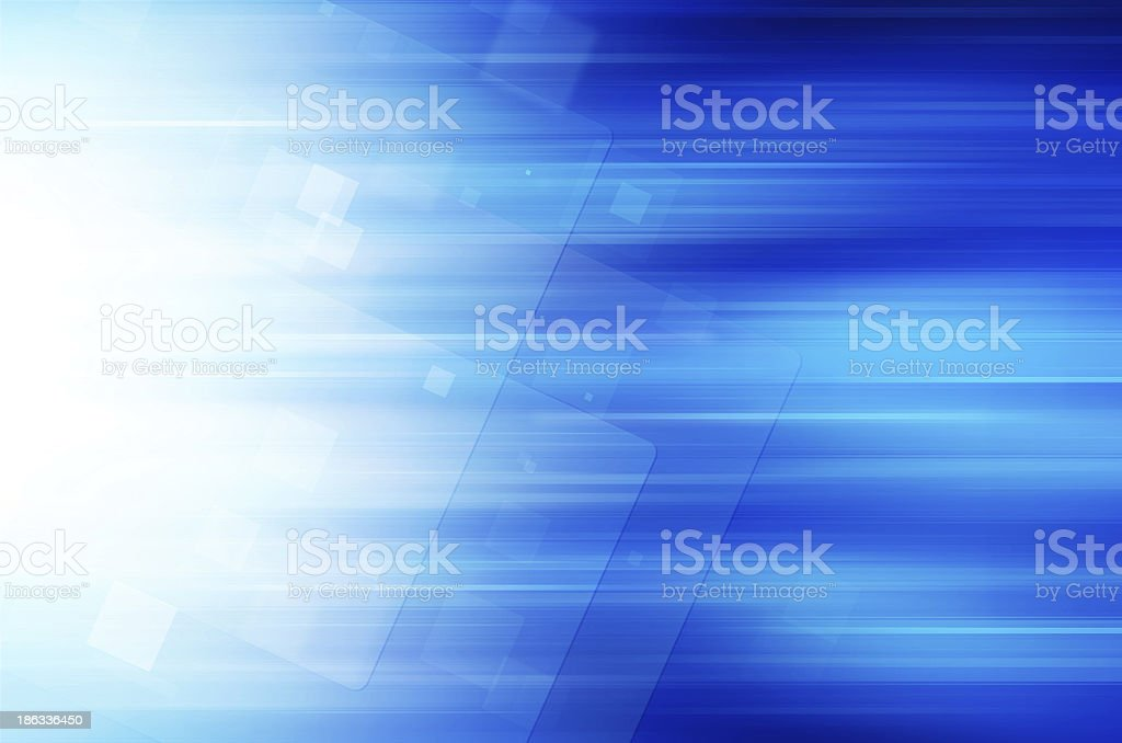 abstract blue technology background royalty-free stock vector art