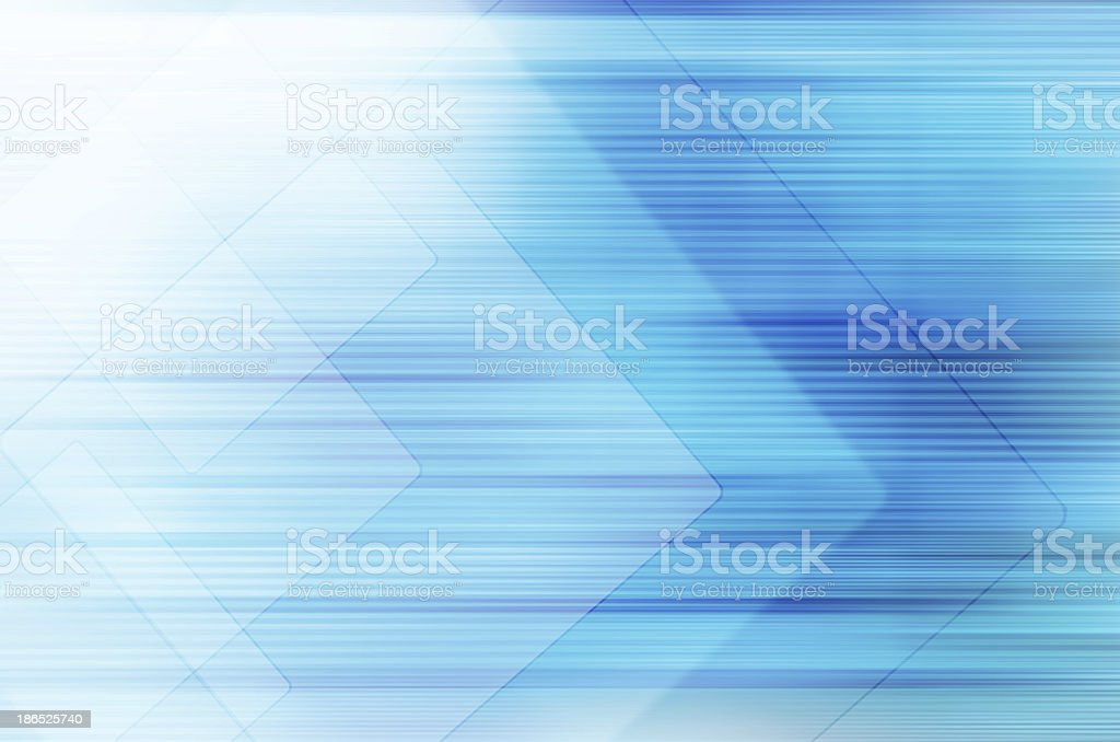 Abstract blue technology background. vector art illustration