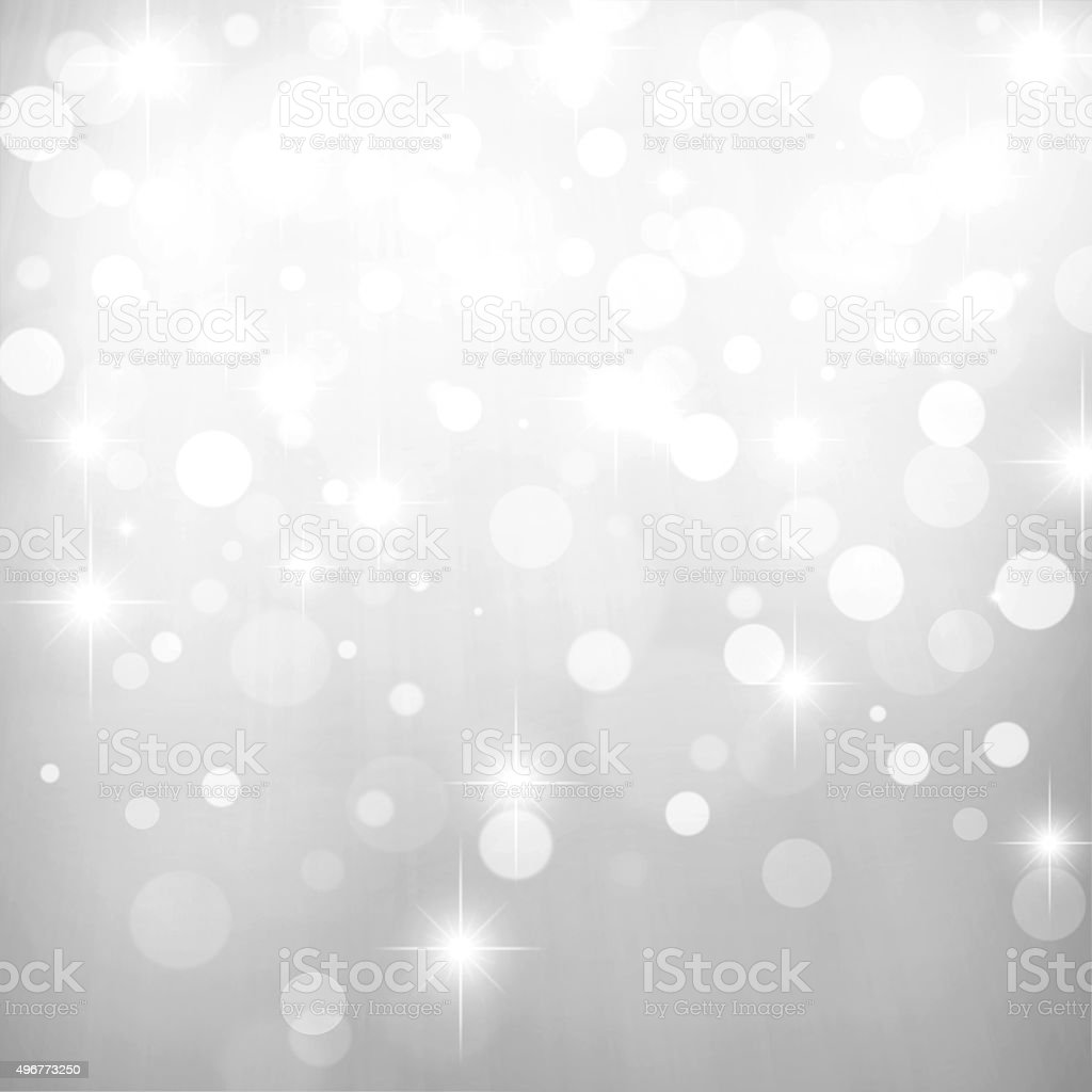 Abstract Bokeh Lights Background vector art illustration