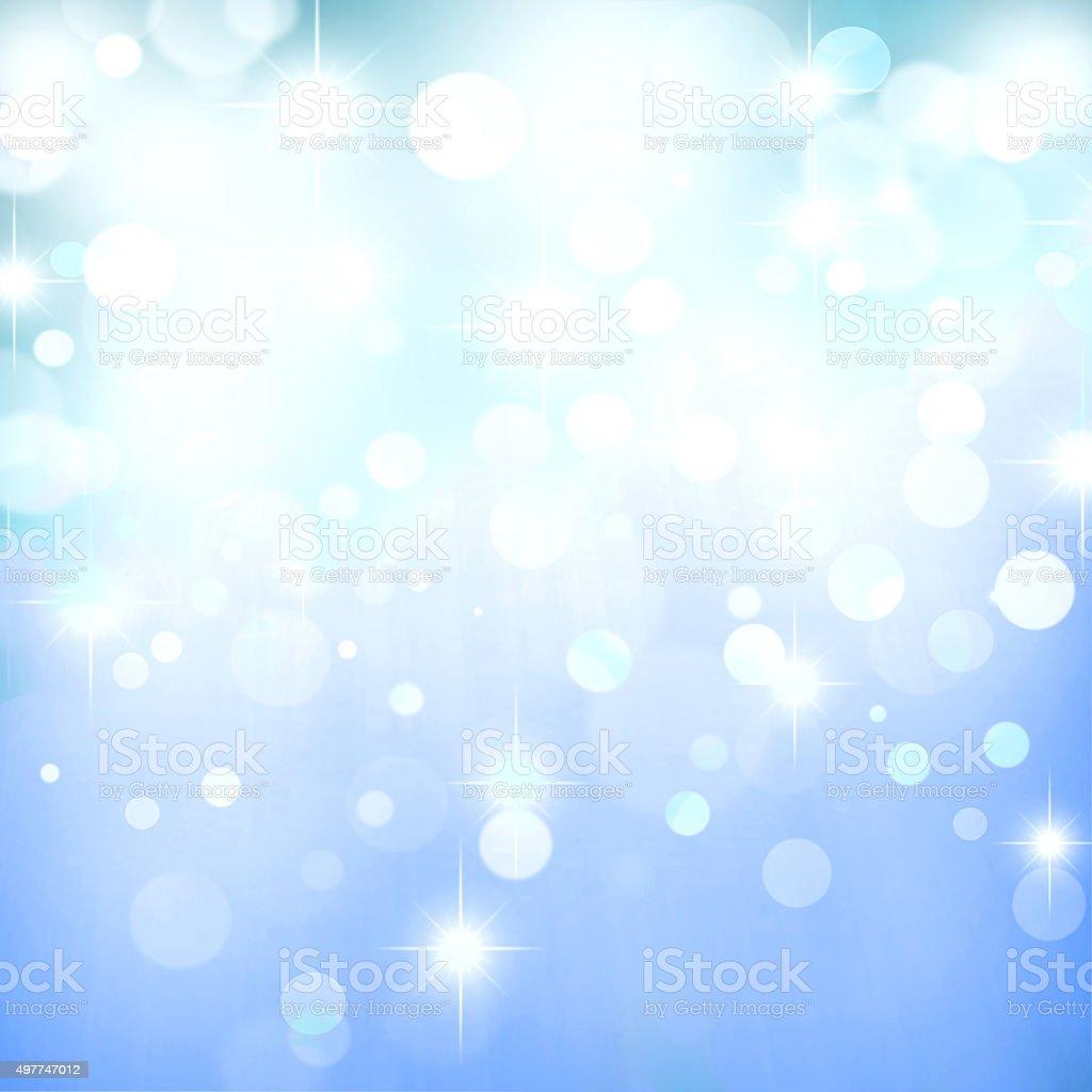 Abstract Bokeh Lights Background vector art illustration