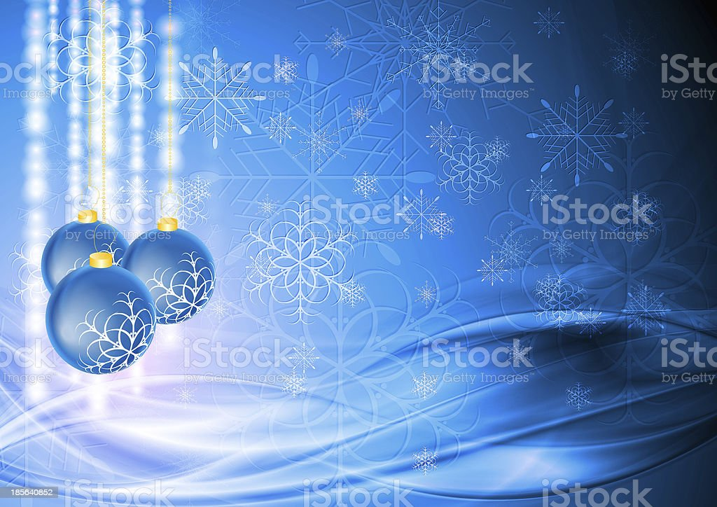 Abstract Christmas background royalty-free stock vector art