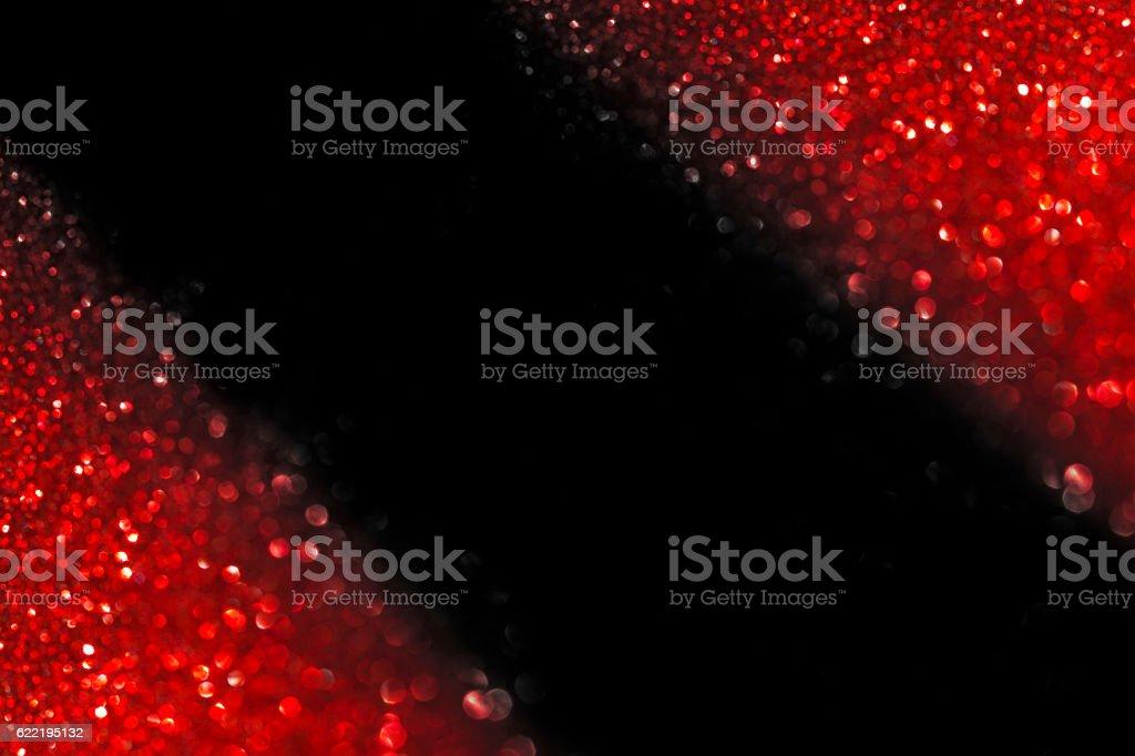 Abstract Christmas red light vector art illustration
