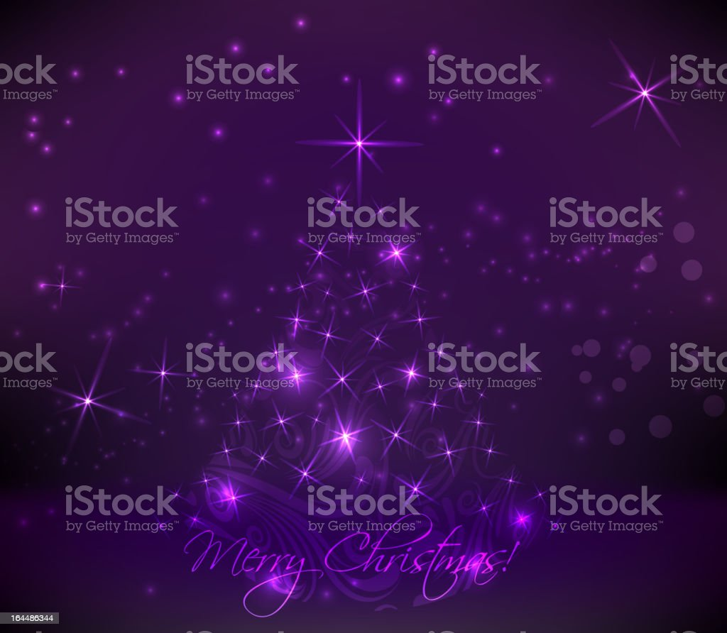 Abstract christmas tree royalty-free stock vector art