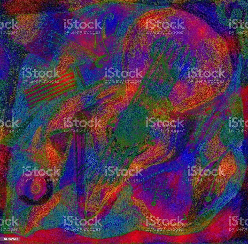 Abstrait couleur arrière-plan stock vecteur libres de droits libre de droits