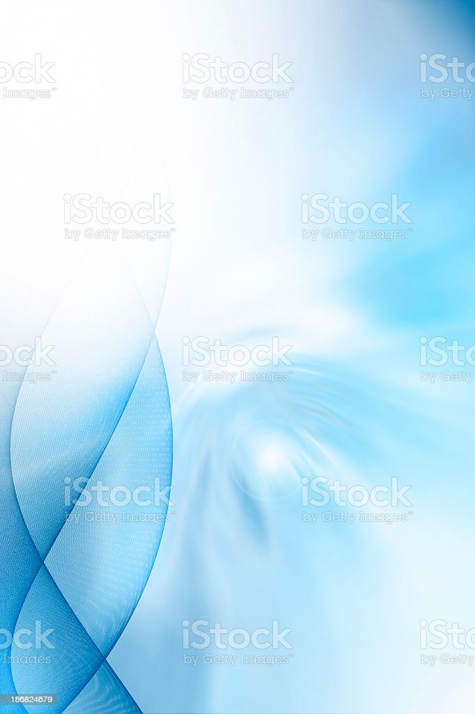 Abstract colour blue background vector art illustration