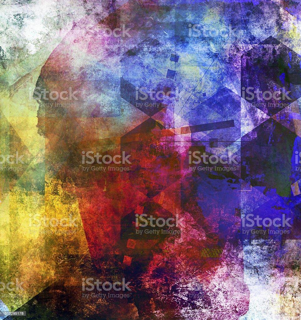 abstract decorative artwork vector art illustration