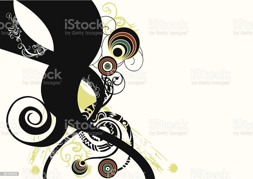 Abstract design royalty-free stock vector art