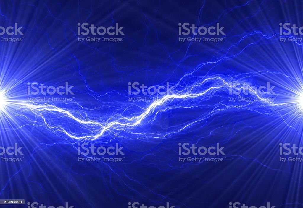 Abstract electrical background vector art illustration