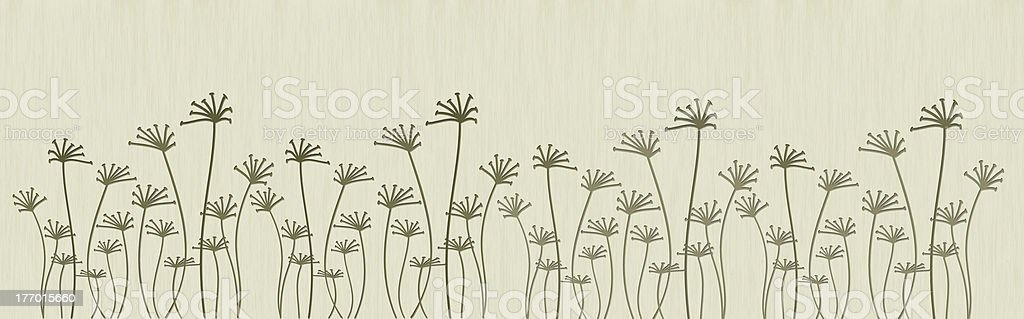 Abstract flowers royalty-free stock vector art