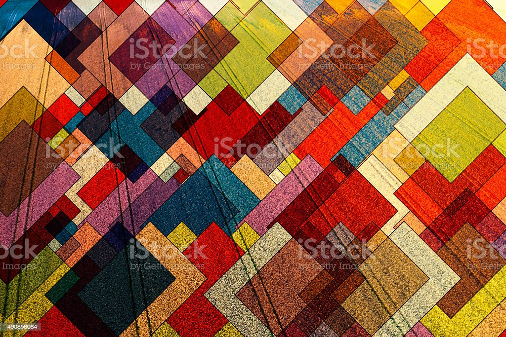 Abstract geometric pattern, nature complexity, architecture stock photo