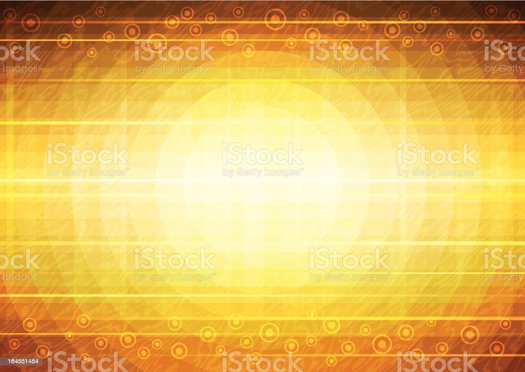 Abstract gold background royalty-free stock vector art