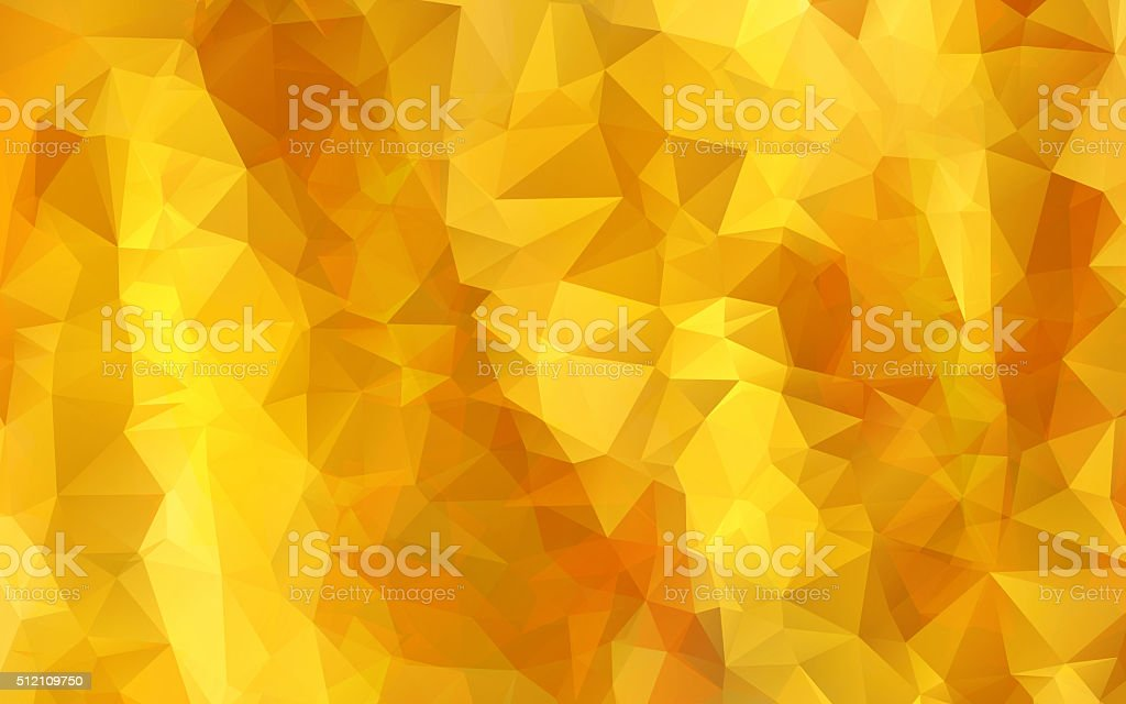 Abstract gold background with diamond shaped pattern vector art illustration