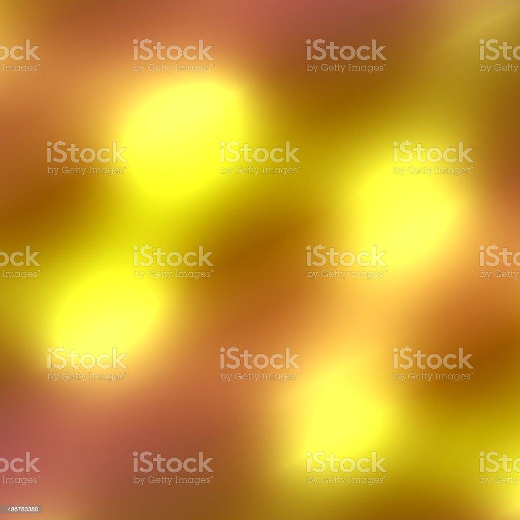 Abstract golden light background. Shiny metal plate. Sunbeam ray. Deco. vector art illustration