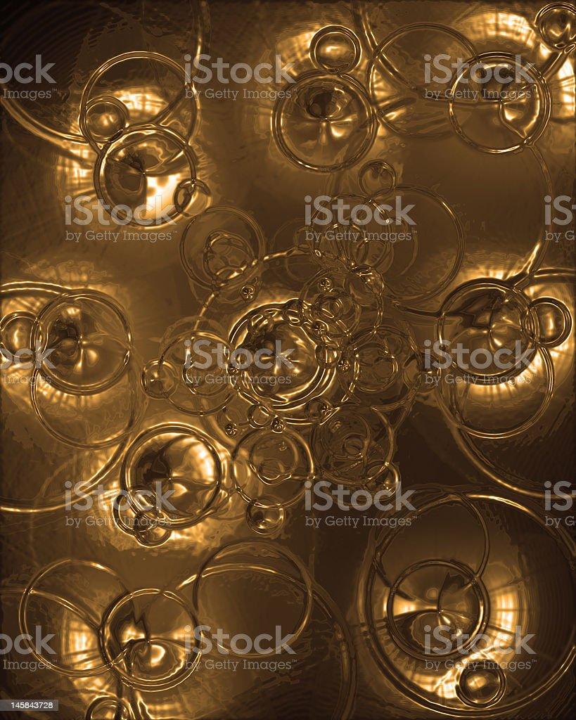 Abstract golden texture royalty-free stock vector art