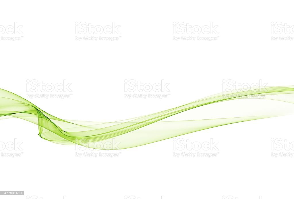 Abstract green lines royalty-free stock vector art