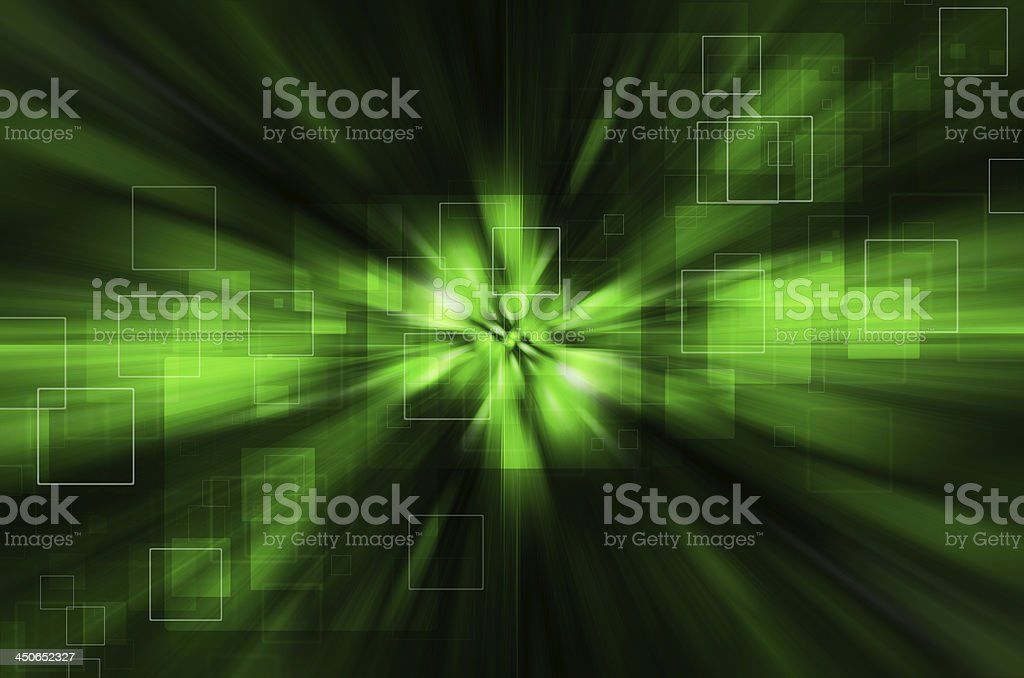 abstract green tech background royalty-free stock vector art