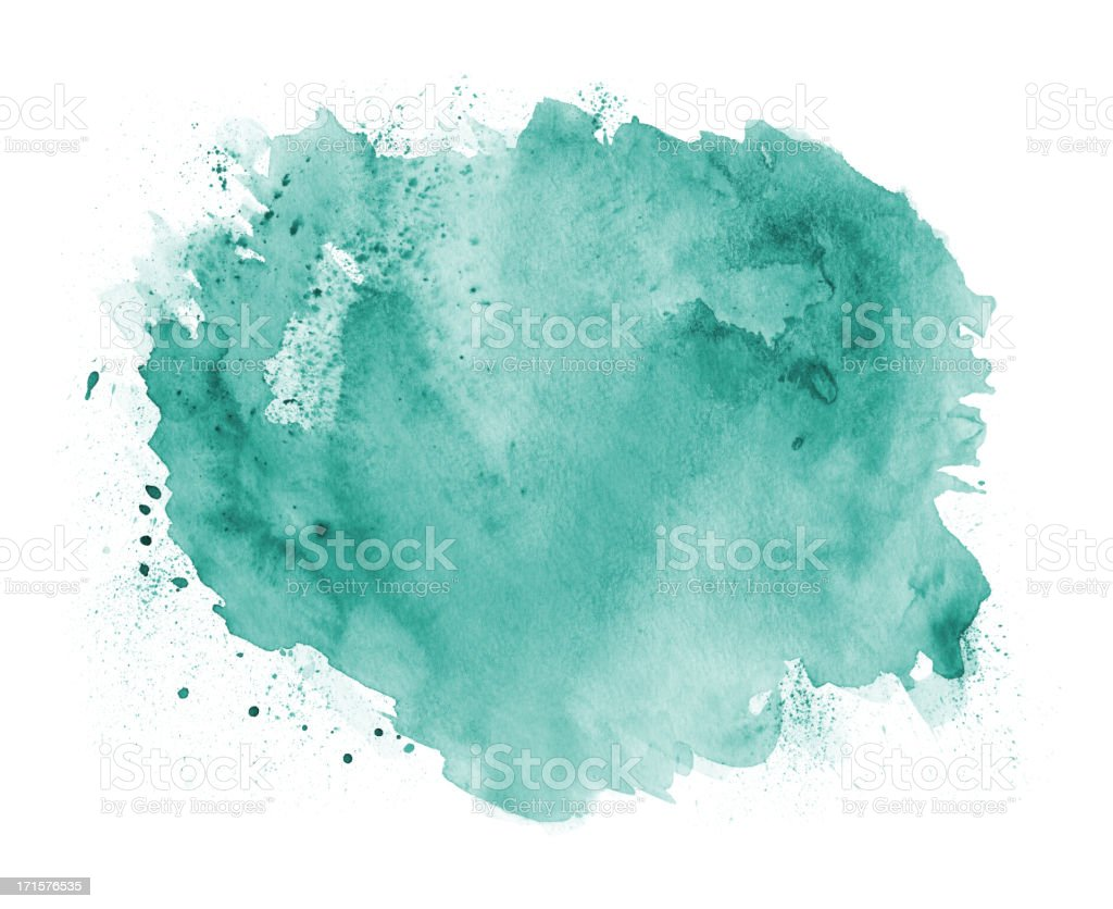 Abstract Green Watercolor Background royalty-free stock vector art
