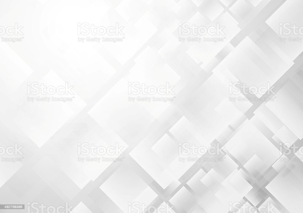 Abstract grey technology background vector art illustration