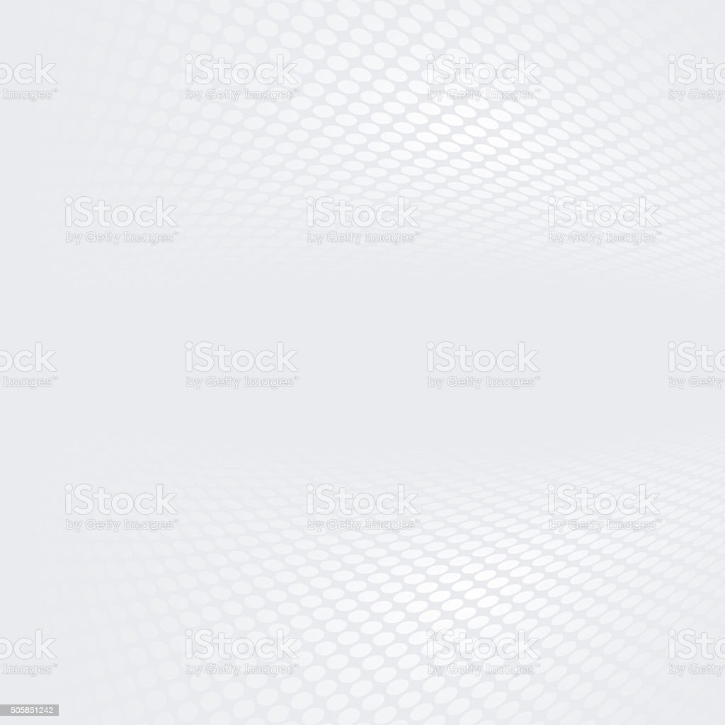 Abstract halftone perspective background vector art illustration