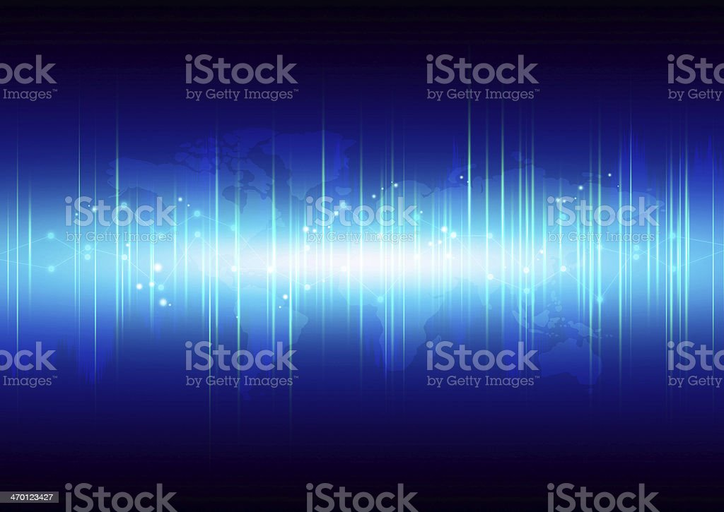 Abstract high technology background royalty-free stock vector art