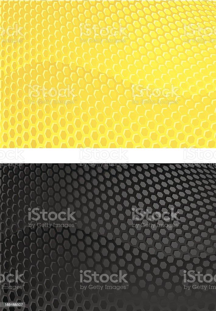 abstract honey comb royalty-free stock vector art