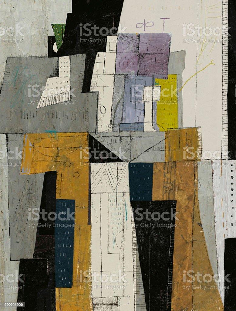 Abstract vector art illustration